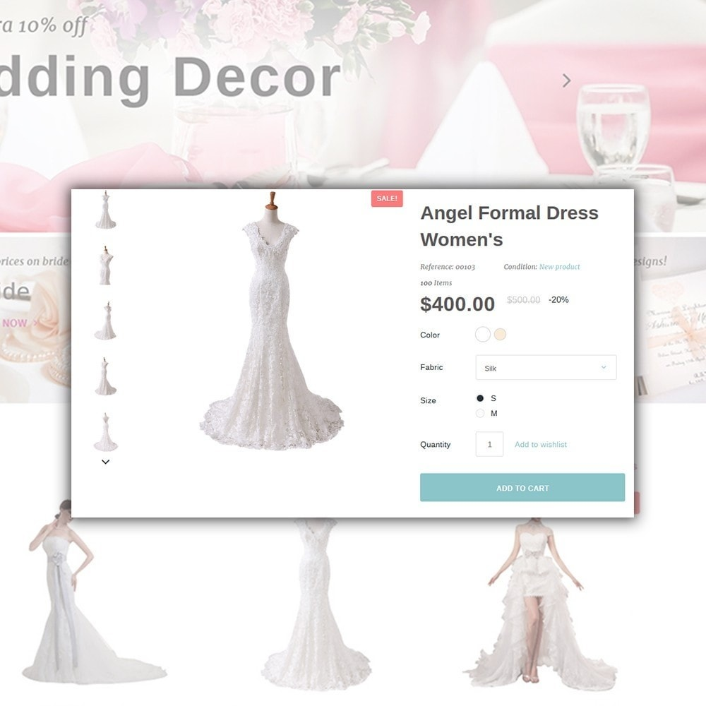 theme - Mode & Chaussures - Weddessa - Magasin de mariage - 5
