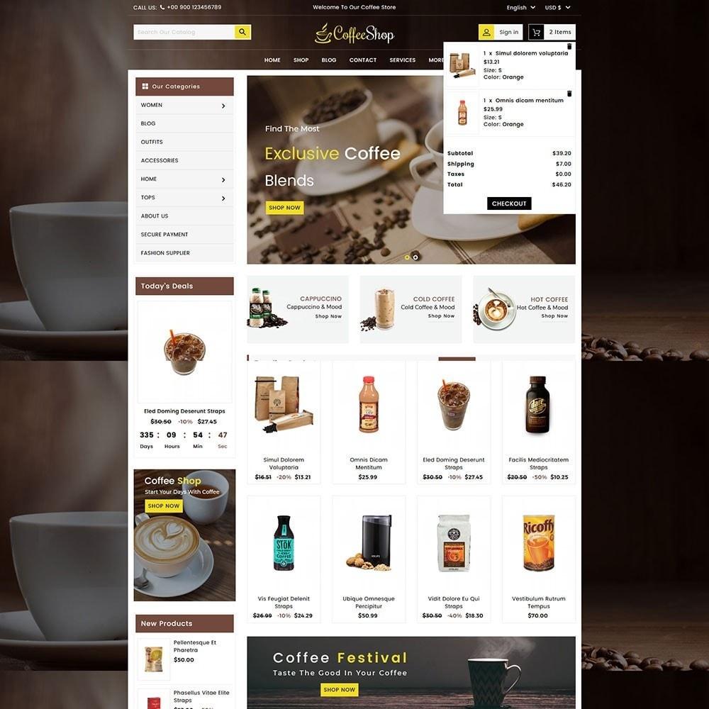 theme - Bebidas & Tabaco - Coffee and Drinks Store - 3