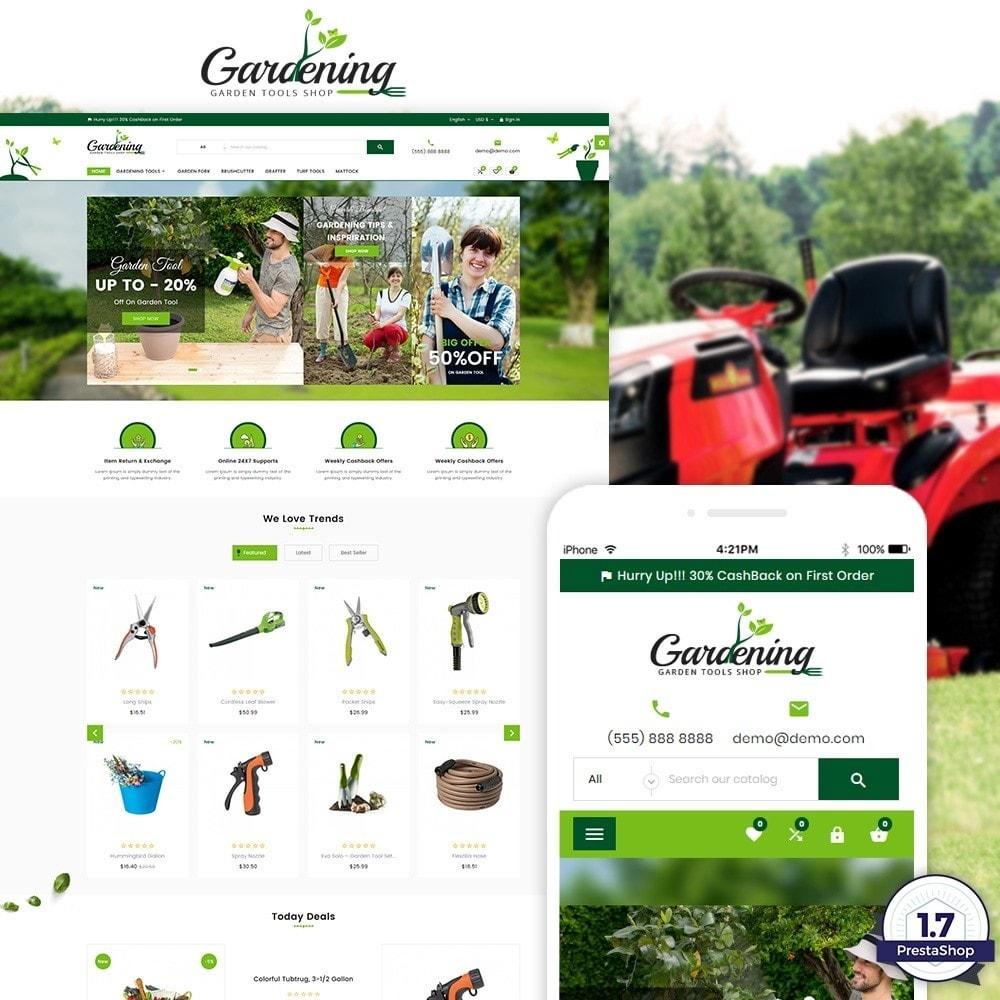 theme - Dom & Ogród - Garding Garden Tool Store - 1