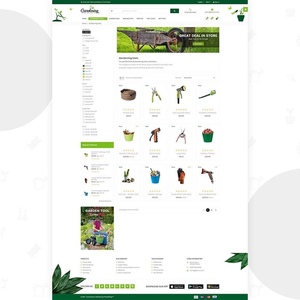 theme - Dom & Ogród - Garding Garden Tool Store - 4