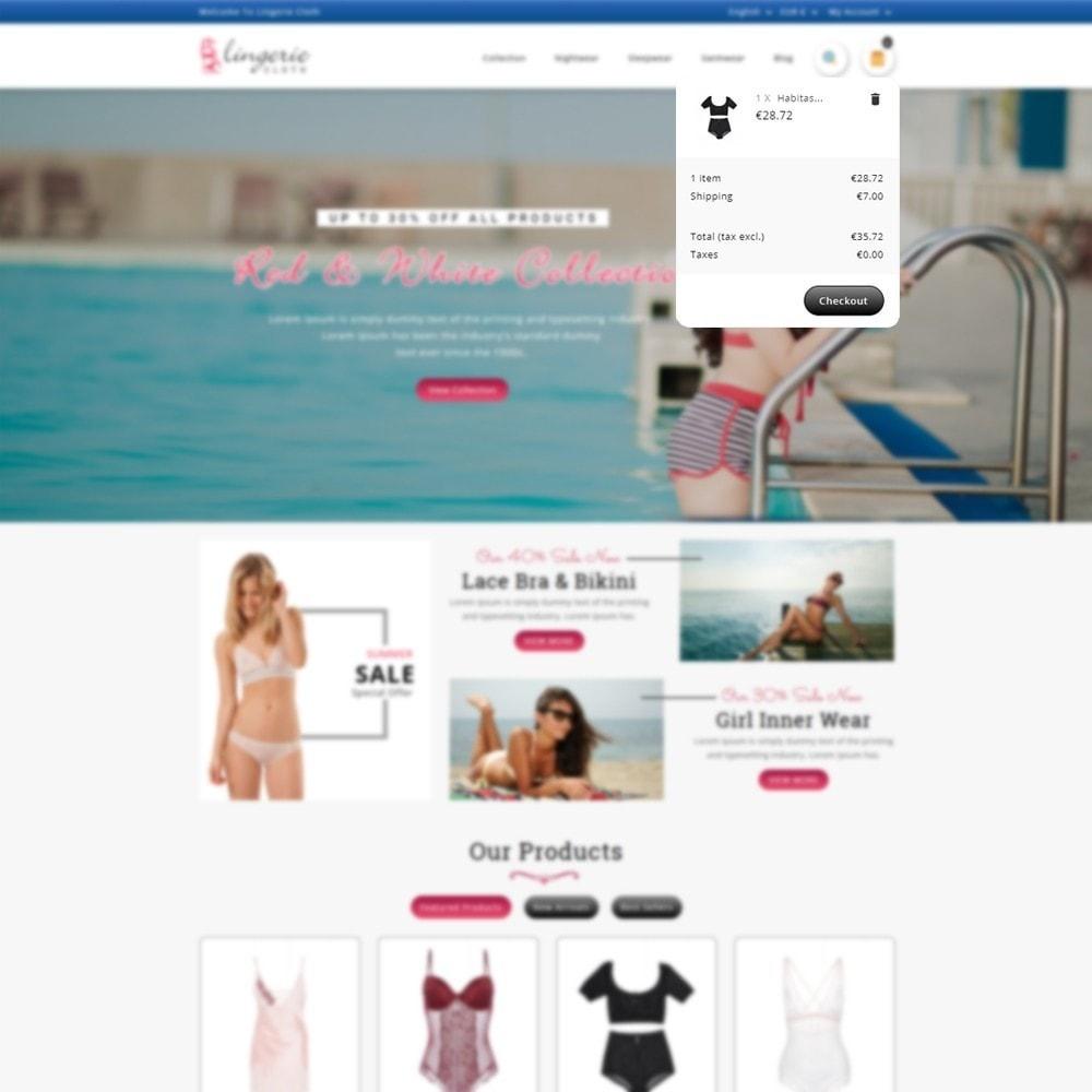theme - Lingerie & Adulti - LingerieCloth - Lingerie Store - 7