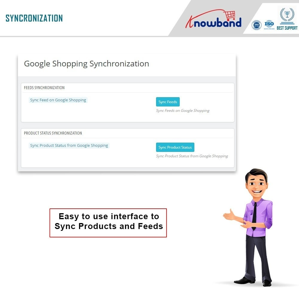 module - Comparadores de Precios - Knowband - Google Shopping (Google Merchant Center) - 6