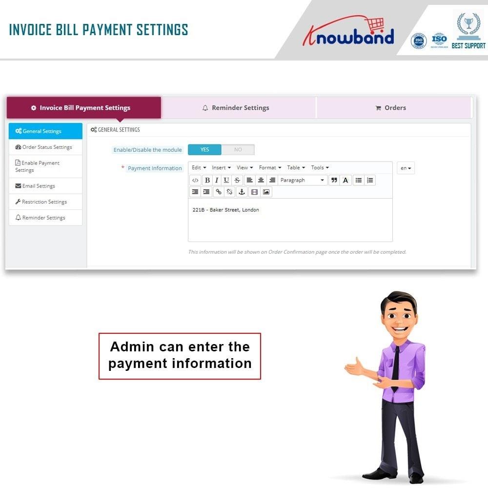 module - Paiement par Facture - Knowband - Invoice Bill Payment - 3