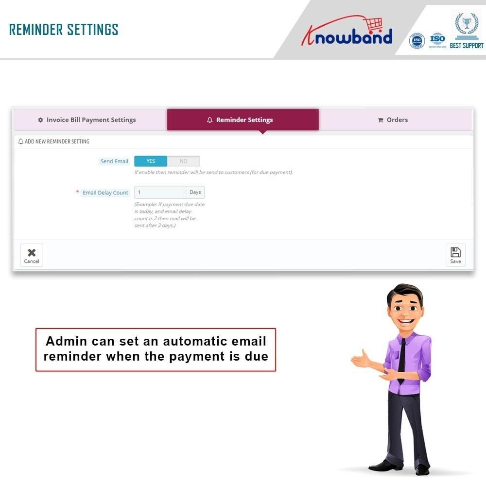 module - Paiement par Facture - Knowband - Invoice Bill Payment - 8