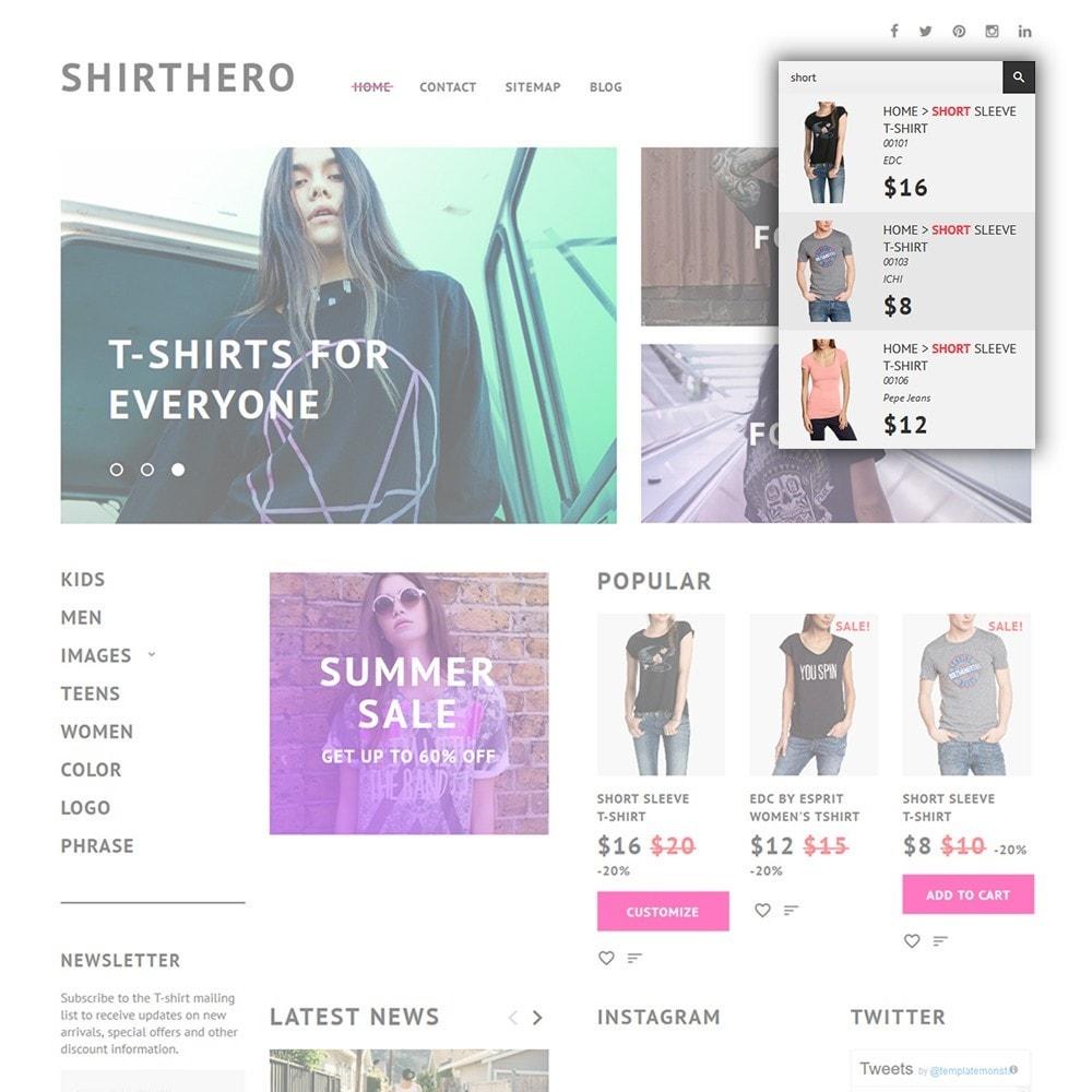 theme - Moda y Calzado - ShirtHero - T-shirt - 4