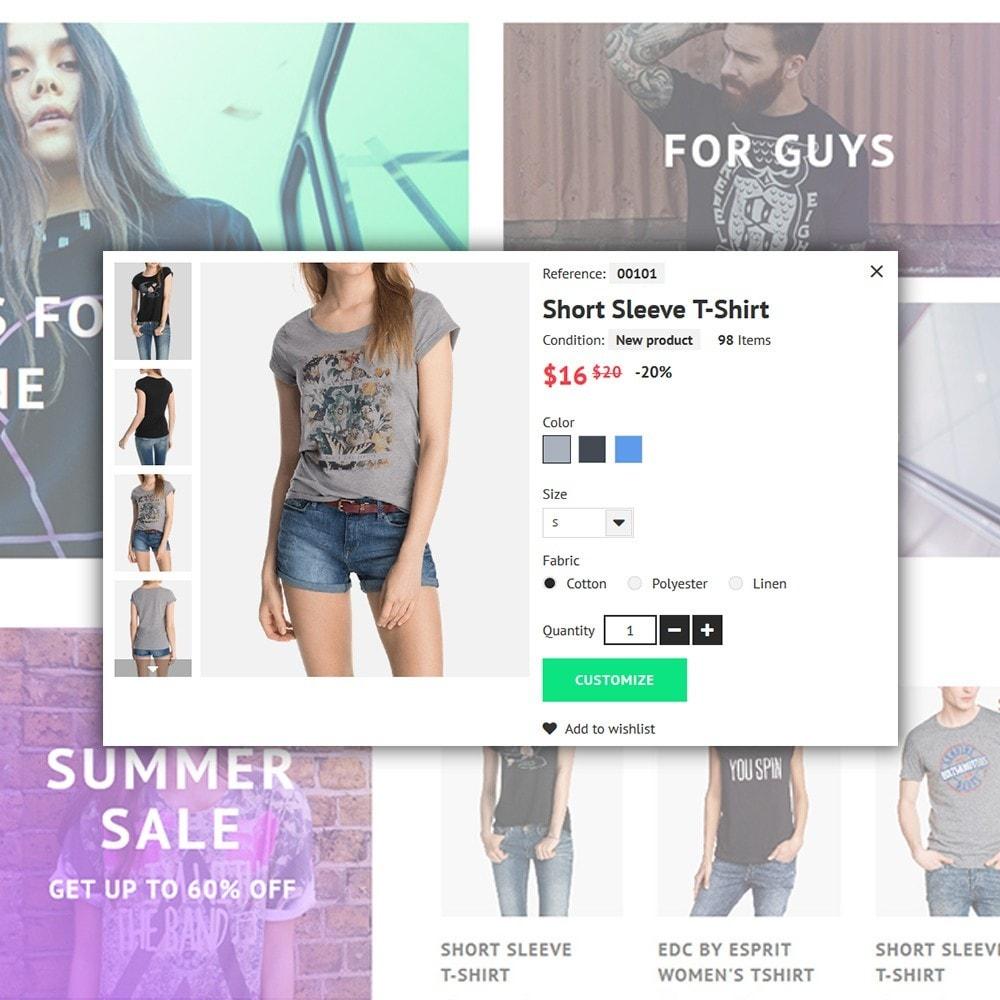 theme - Moda y Calzado - ShirtHero - T-shirt - 5