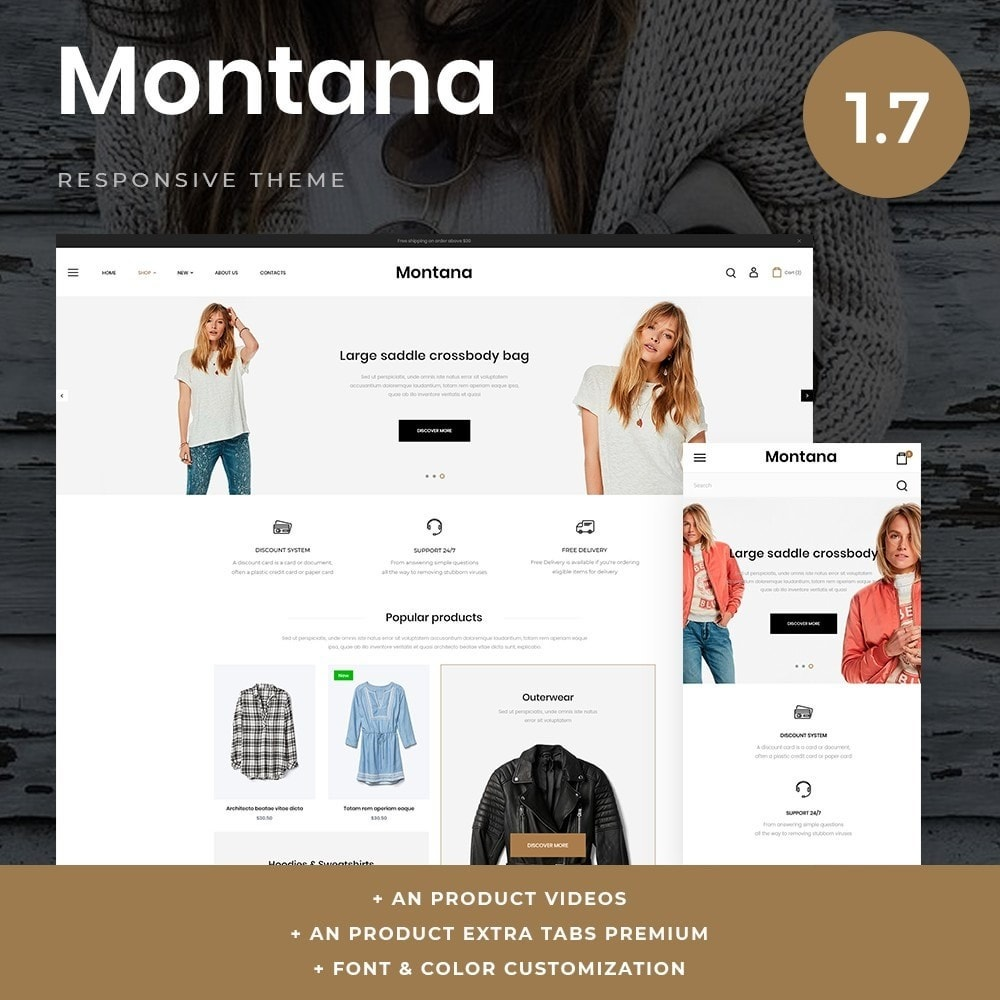 theme - Mode & Chaussures - Montana Fashion Store - 1