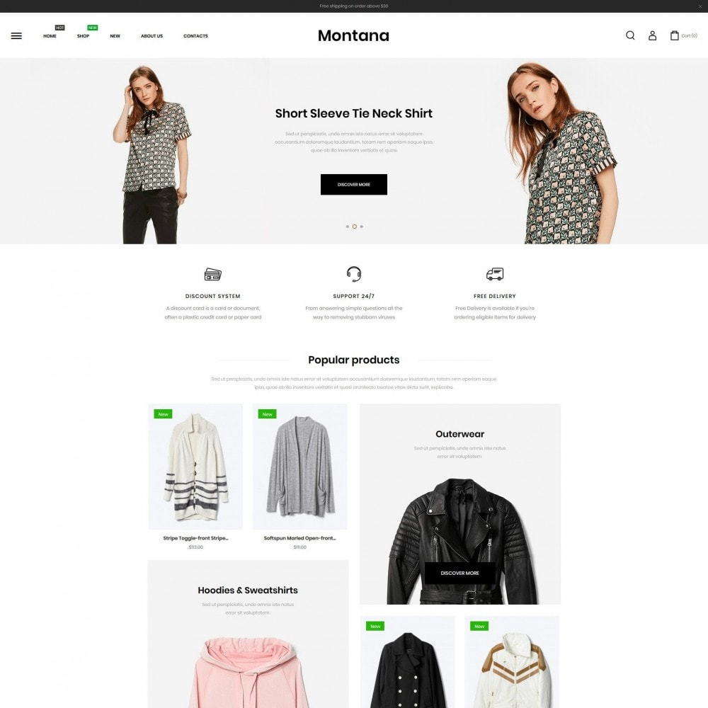 theme - Mode & Chaussures - Montana Fashion Store - 2
