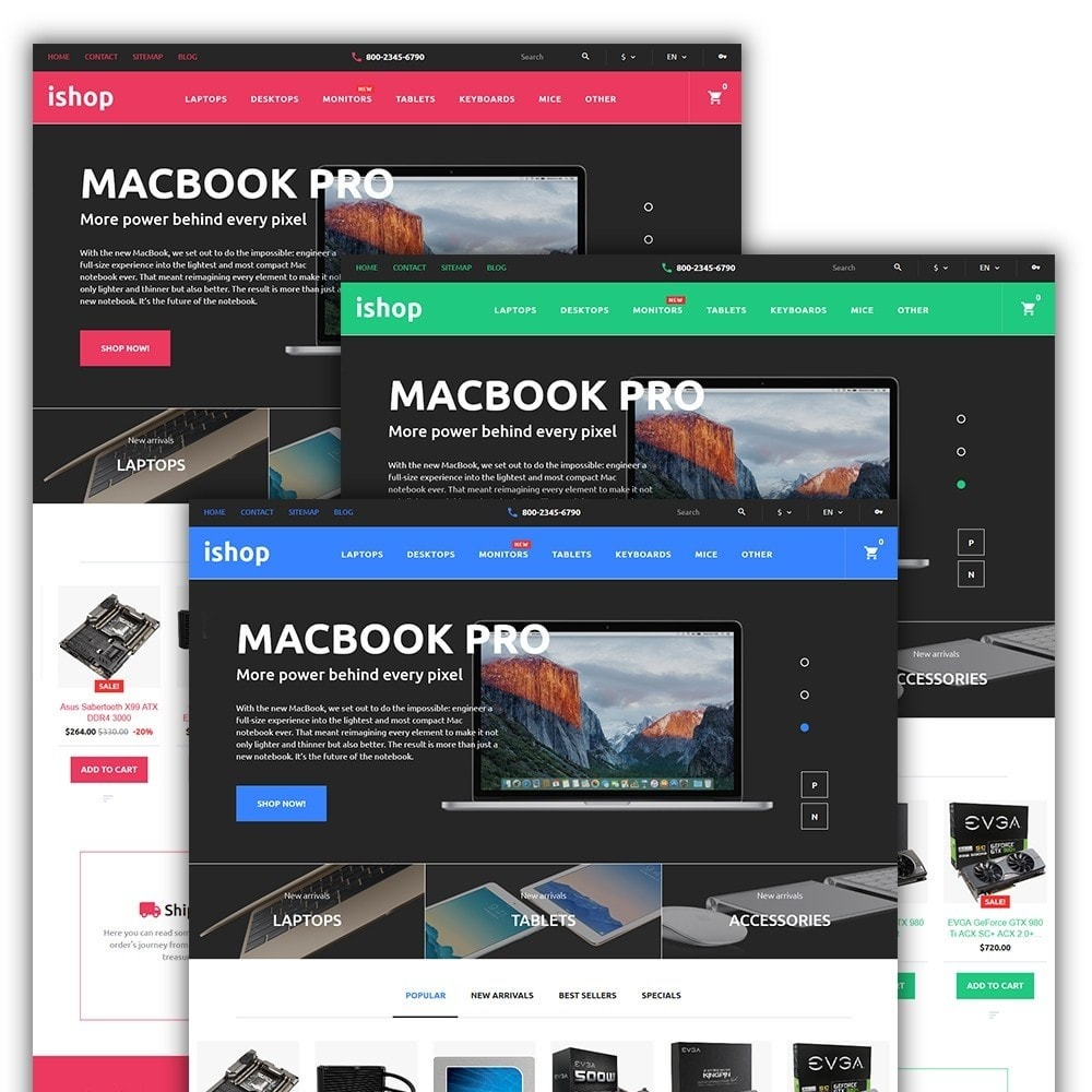 theme - Elettronica & High Tech - iShop - Computer Store - 2