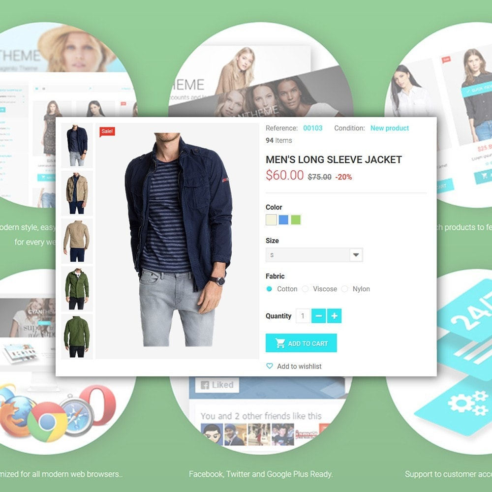 theme - Fashion & Shoes - CyanTheme - Fashion Store - 4