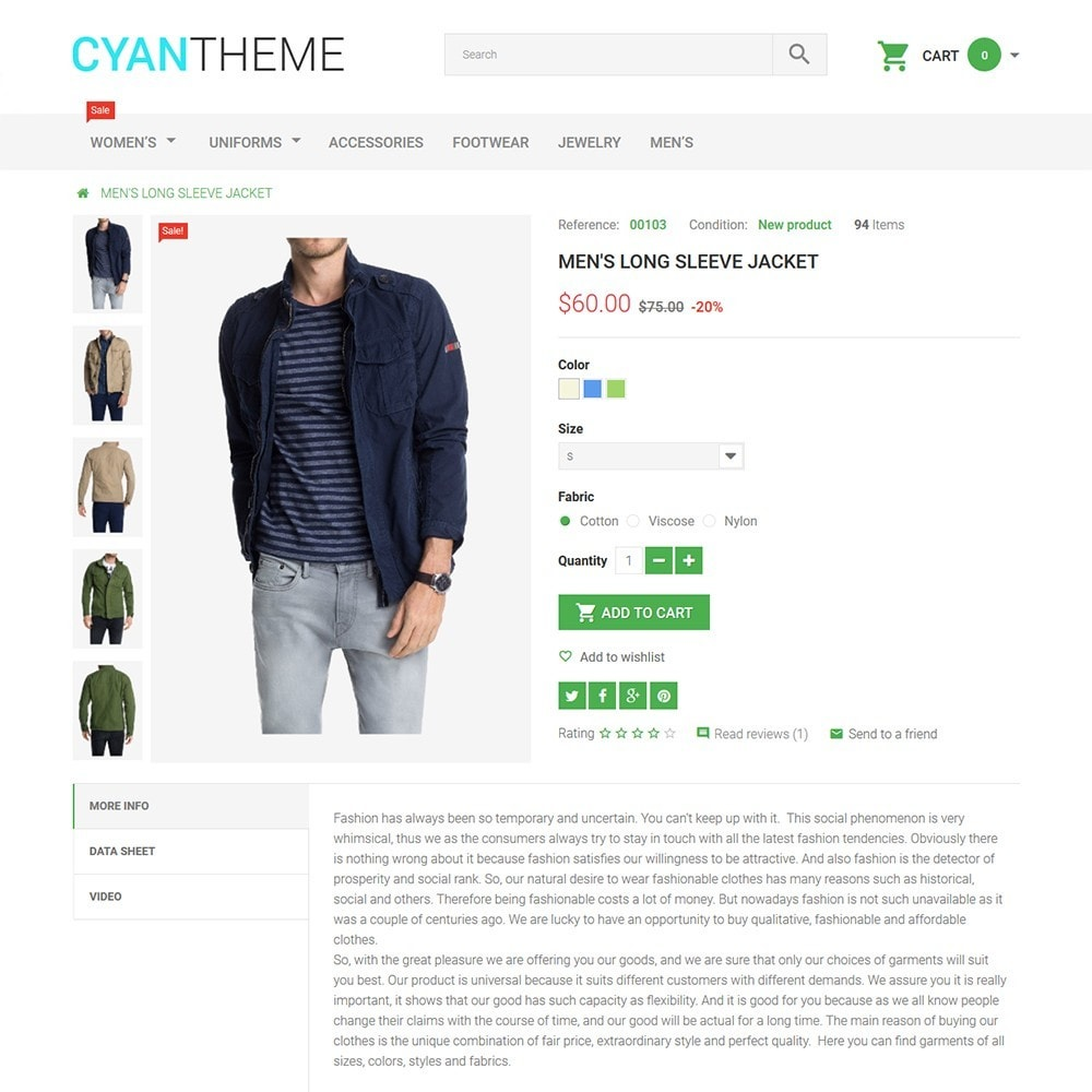 theme - Мода и обувь - CyanTheme - Fashion Store - 3