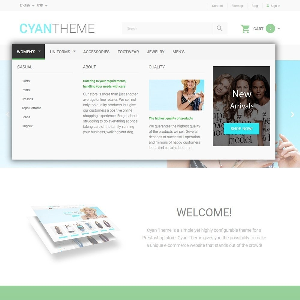 theme - Moda & Calzature - CyanTheme - Fashion Store - 5