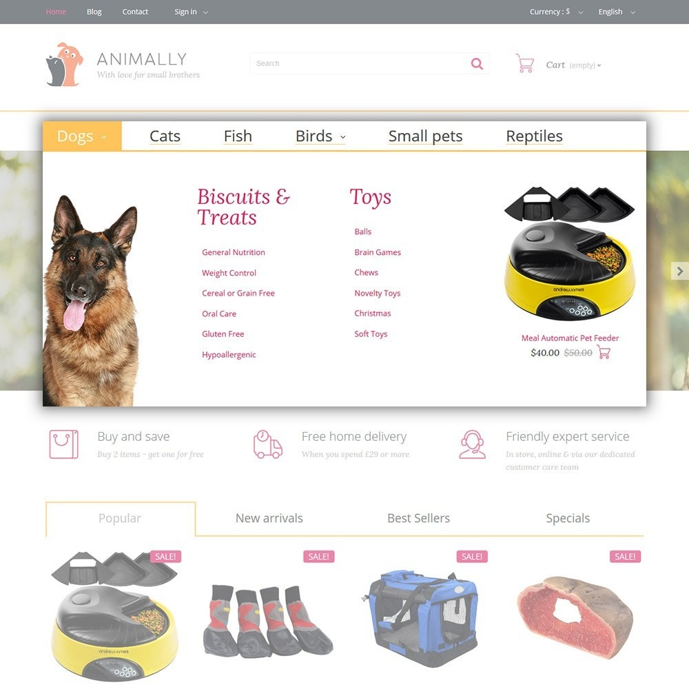 theme - Animals & Pets - Animally - Animals & Pets - 4
