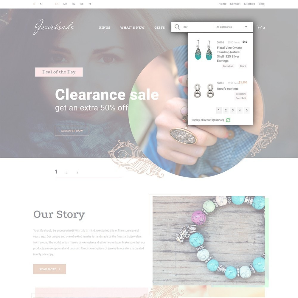 theme - Mode & Chaussures - Jewelsado - Jewelry Store - 6