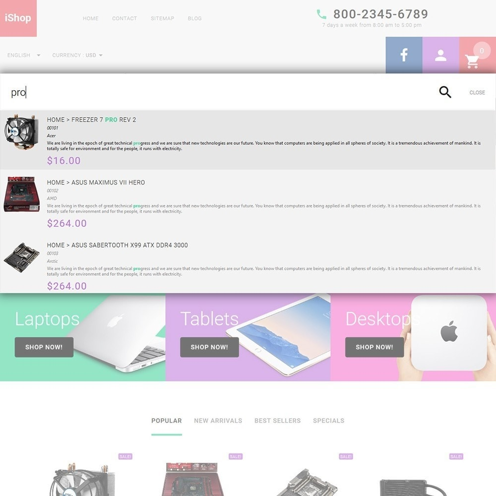 theme - Elektronika & High Tech - iShop - White Computer Store - 6