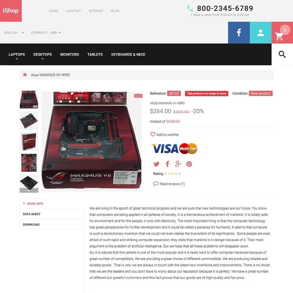 theme - Электроника и компьютеры - iShop - White Computer Store - 3