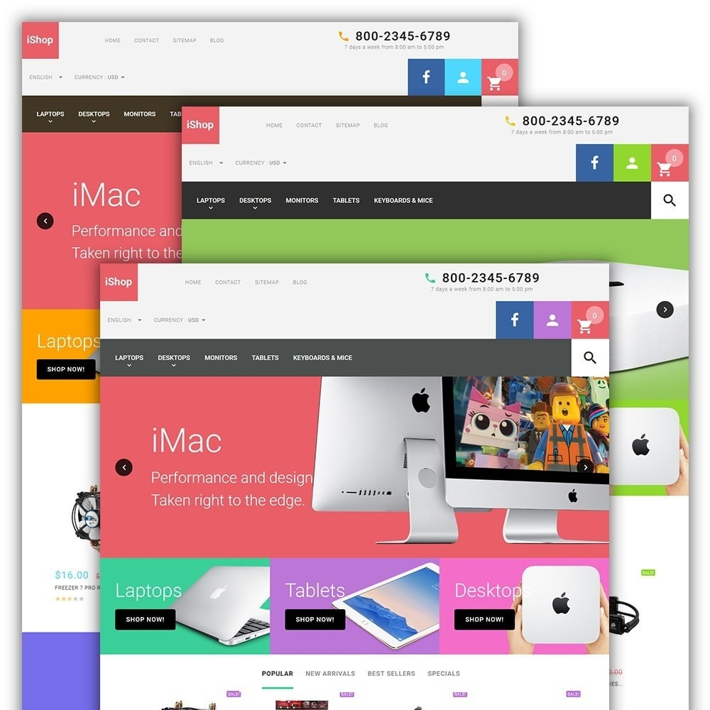 theme - Elettronica & High Tech - iShop - White Computer Store - 2