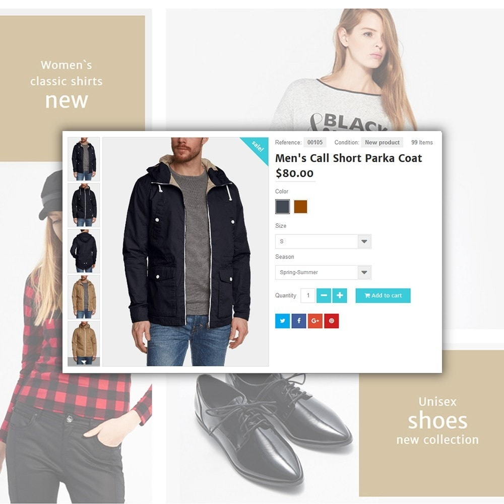 theme - Moda & Calçados - Shopsys - Trendy Clothes - 5