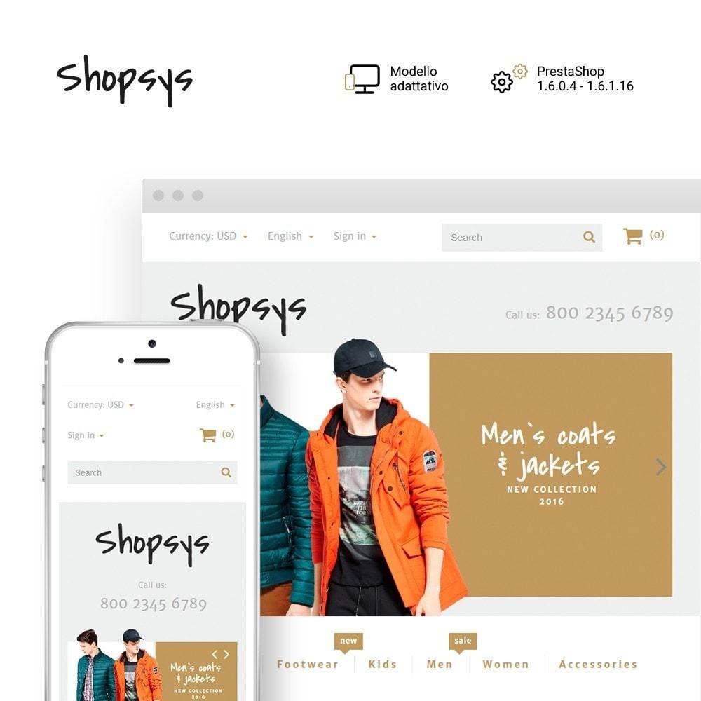 theme - Moda & Calzature - Shopsys - Trendy Clothes - 1