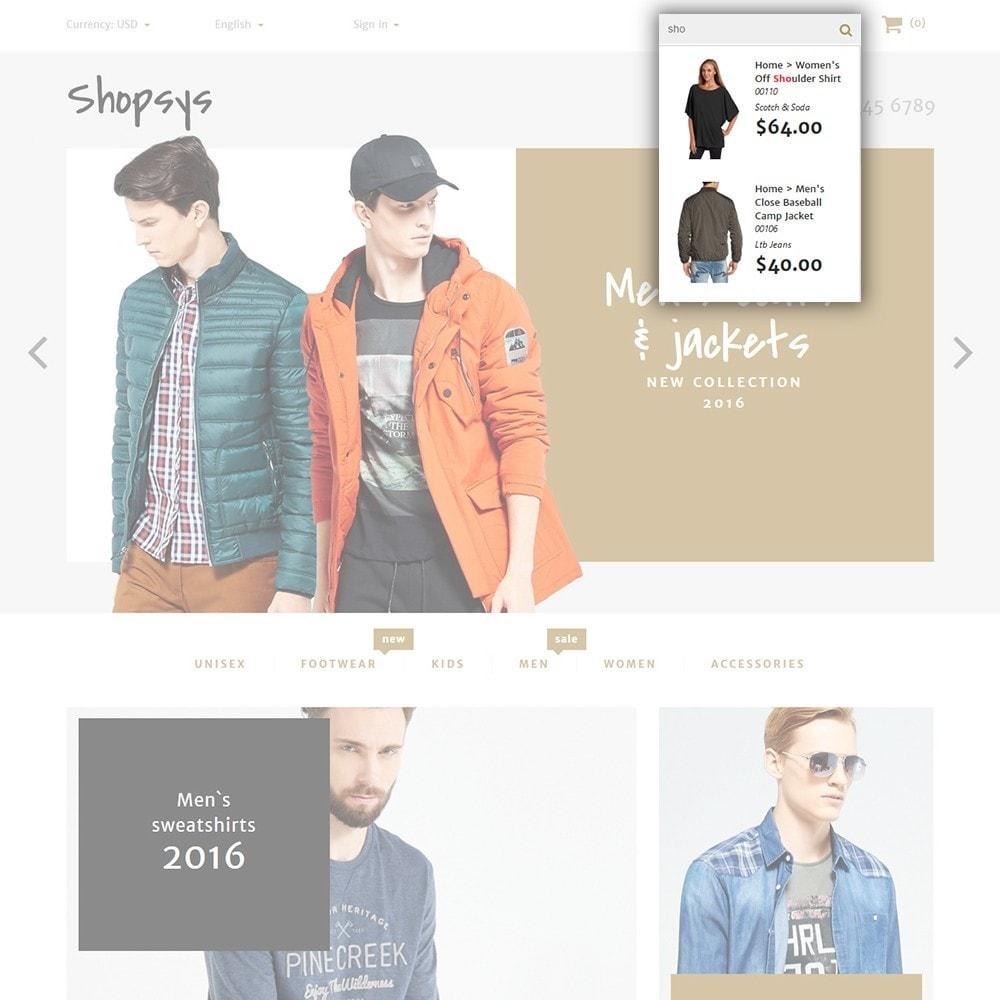 theme - Moda & Calzature - Shopsys - Trendy Clothes - 4