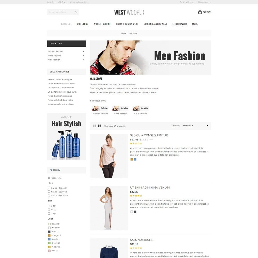theme - Moda & Calzature - West Wooplr - Fashion Collection - 5