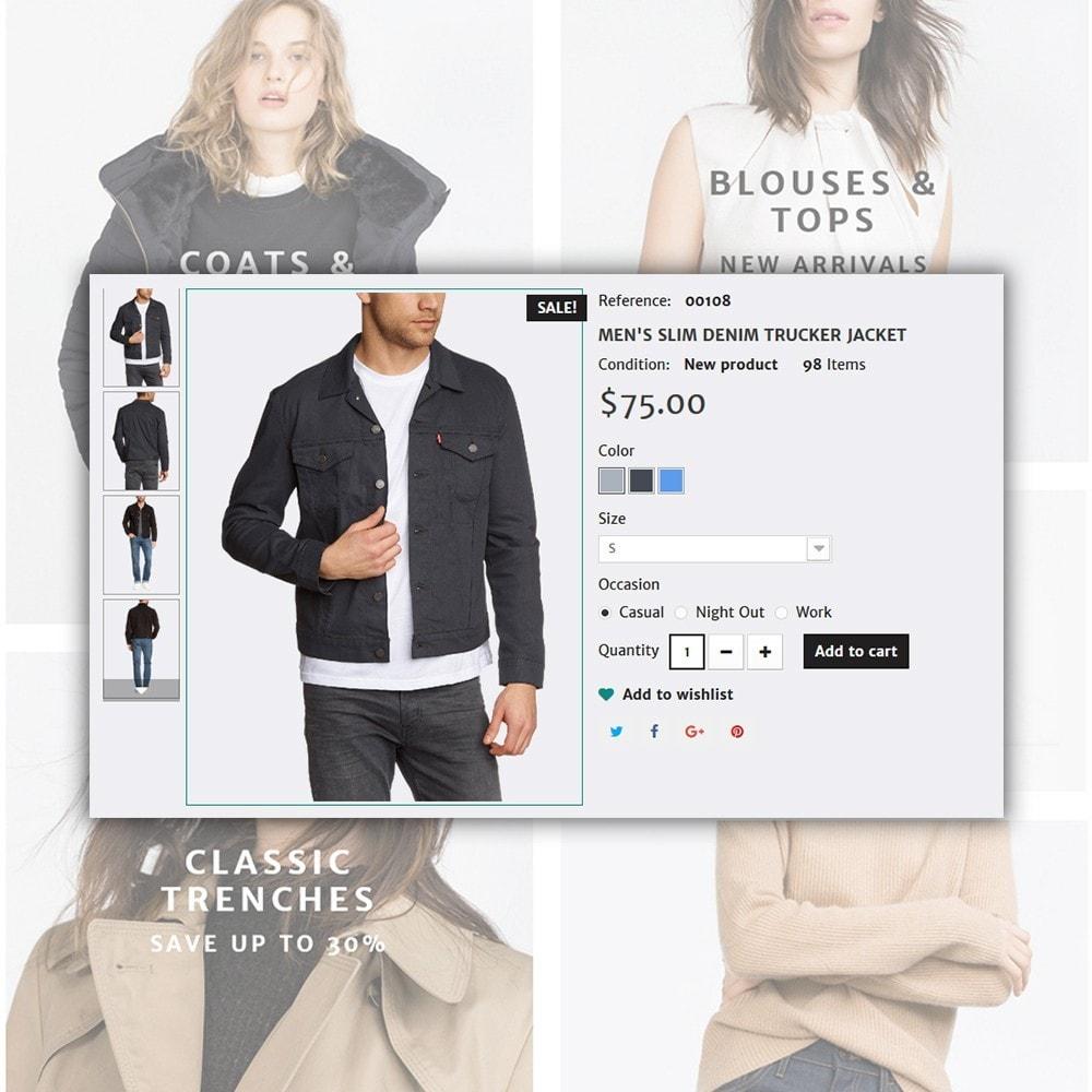 theme - Moda y Calzado - Concept - Apparel Store - 6