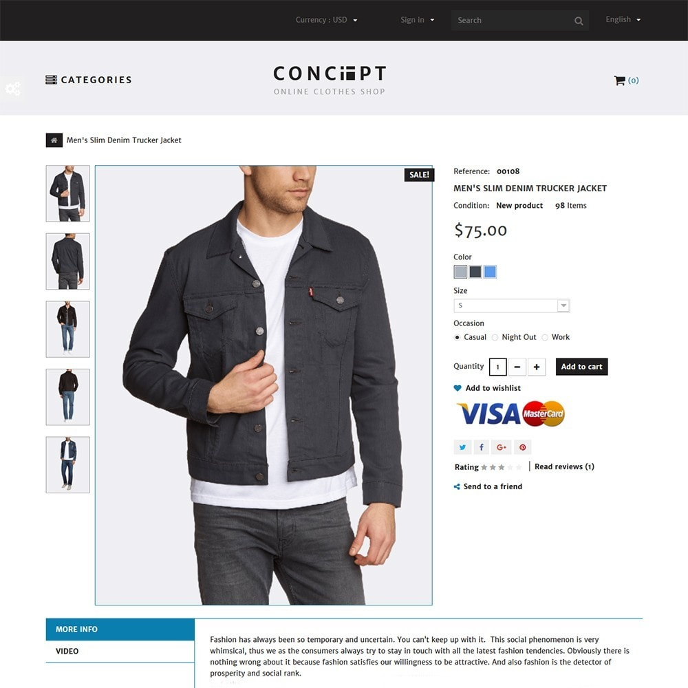 theme - Мода и обувь - Concept - Apparel Store - 3