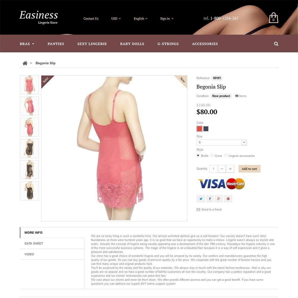theme - Moda y Calzado - Easiness - Lingerie Store - 3