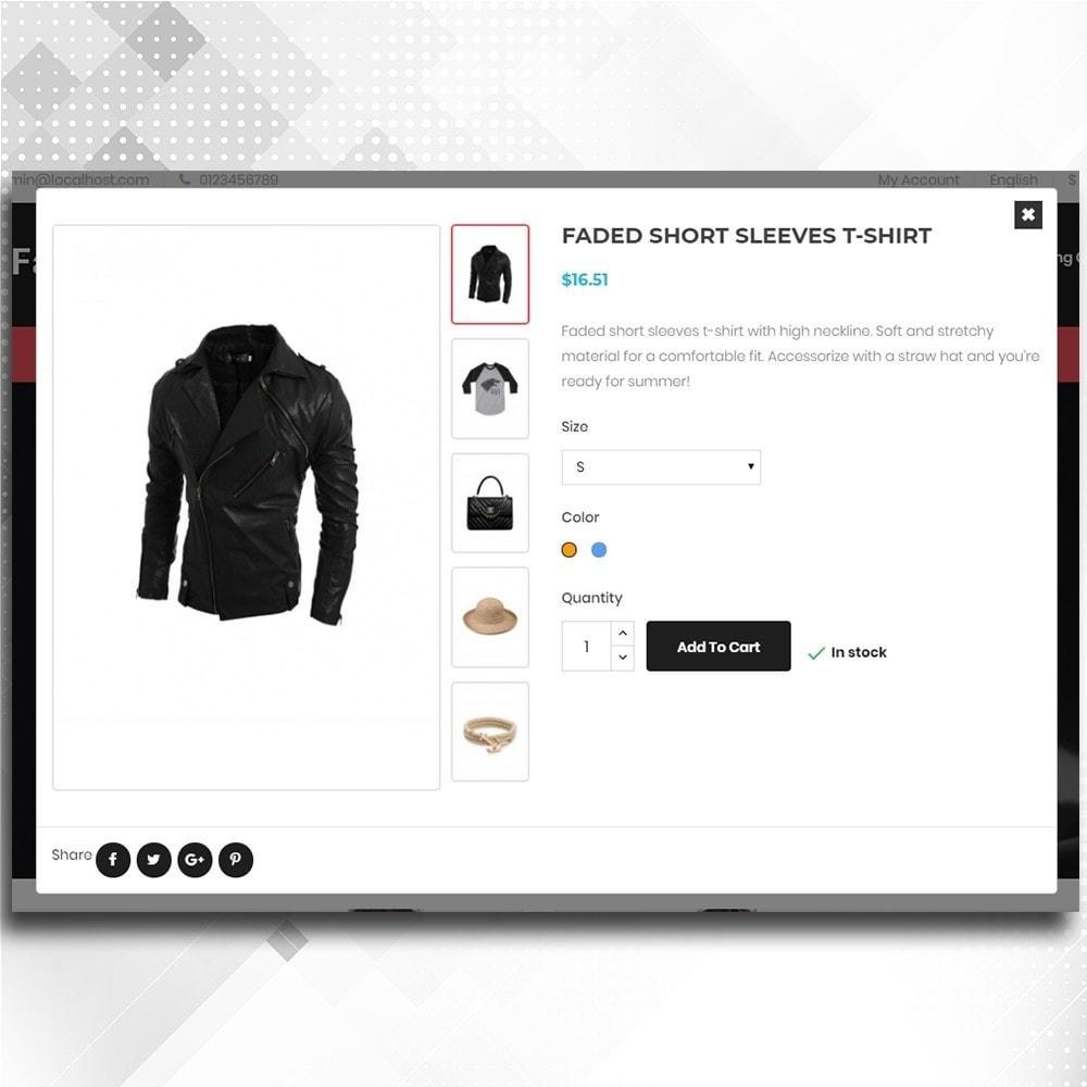 theme - Moda & Calzature - Fashion Shop -  Fashion Store Template - 7
