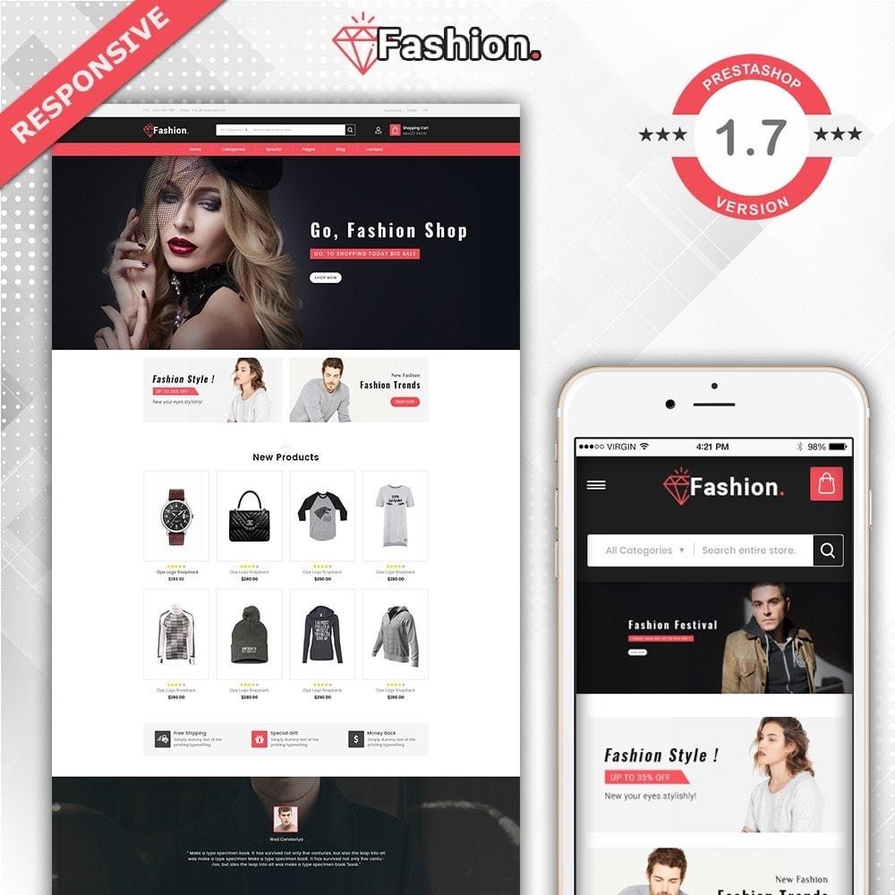 theme - Moda & Obuwie - Fashion Shop -  Fashion Store Template - 2