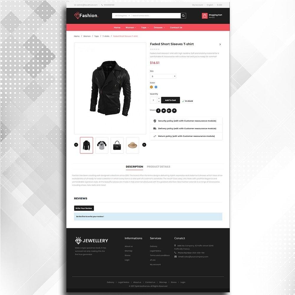 theme - Moda & Calçados - Fashion Shop -  Fashion Store Template - 6