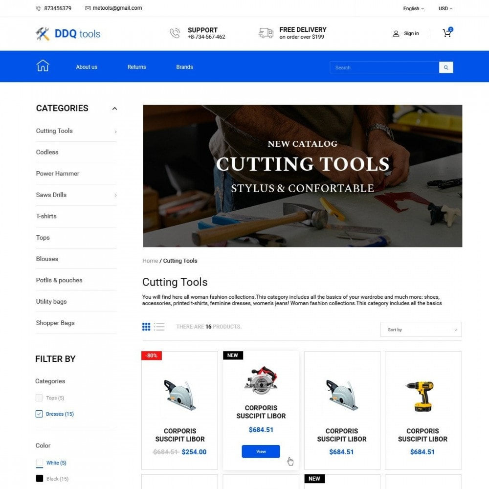 theme - Electrónica e High Tech - MyTools  - Tools Store - 2