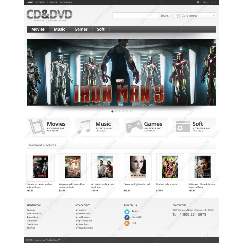 theme - Kids & Toys - Responsive CD & DVD Store - 4