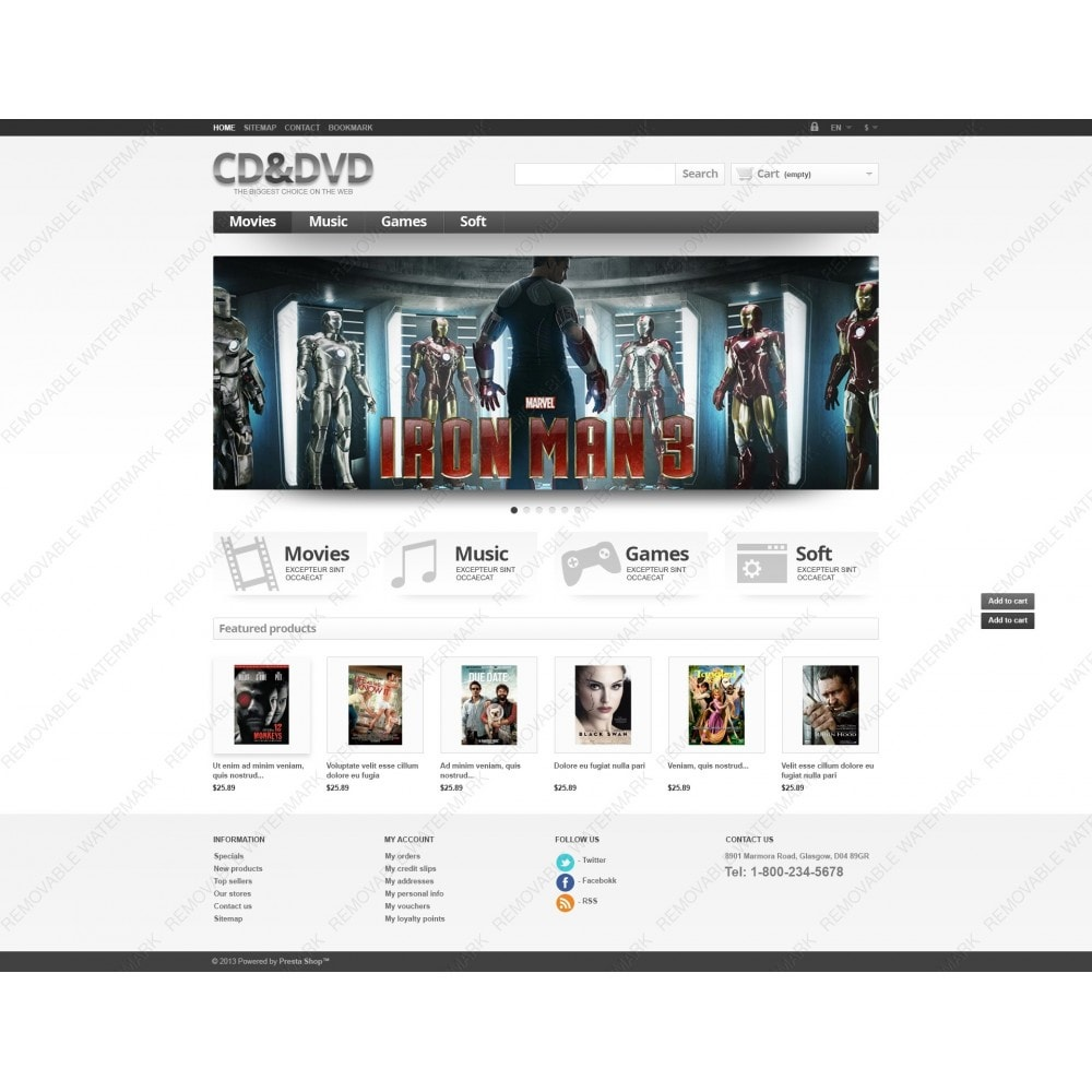 theme - Kids & Toys - Responsive CD & DVD Store - 6
