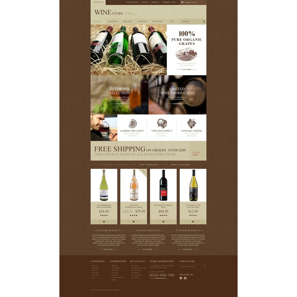 theme - Eten & Restaurant - Wine Store - 2