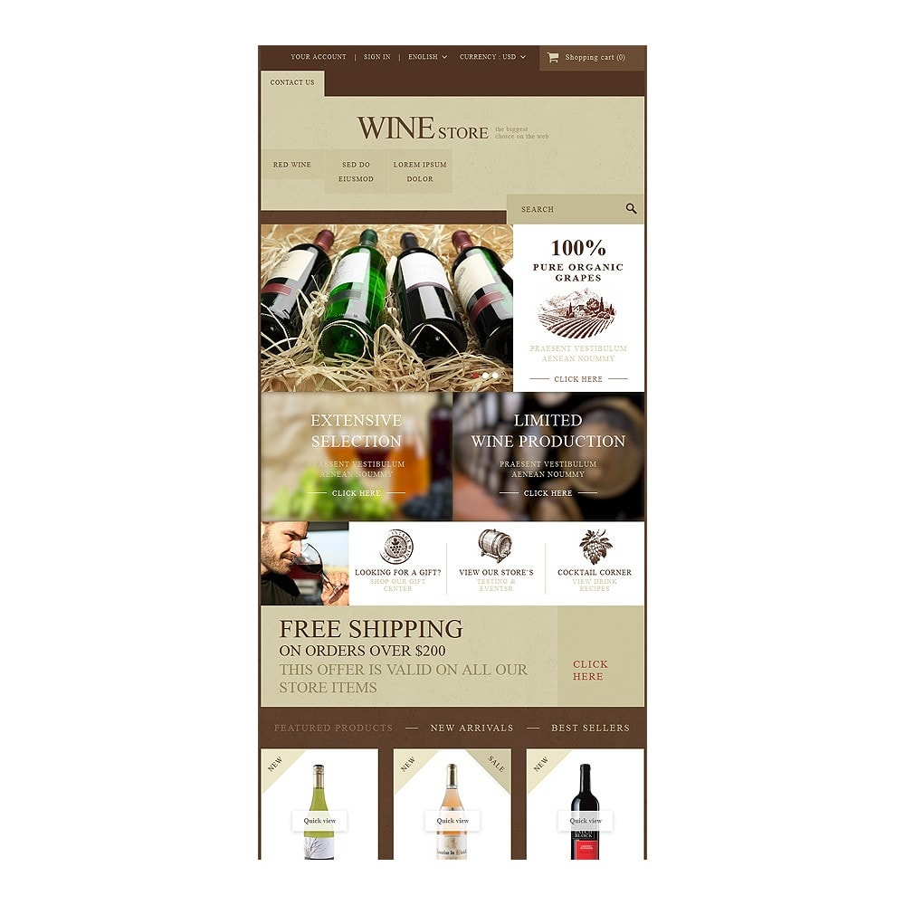 theme - Eten & Restaurant - Wine Store - 7