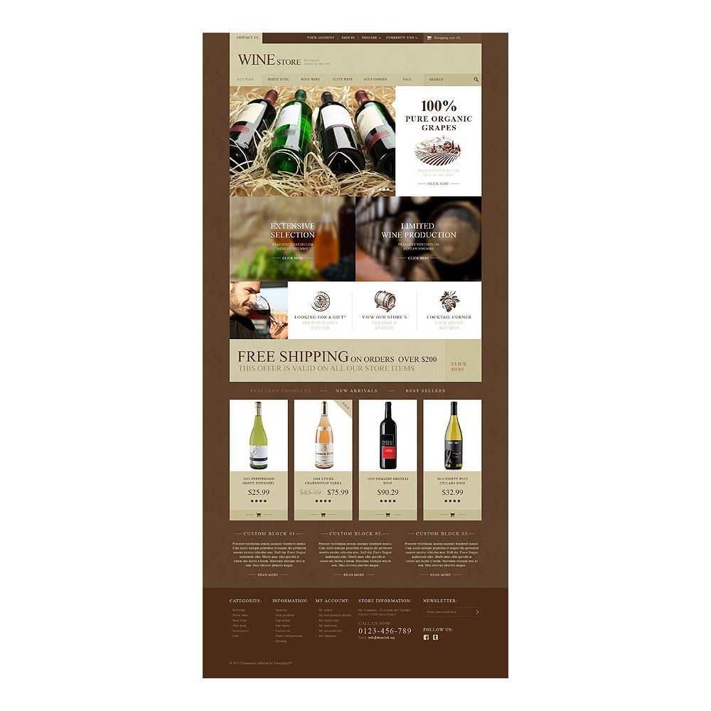 theme - Eten & Restaurant - Wine Store - 10