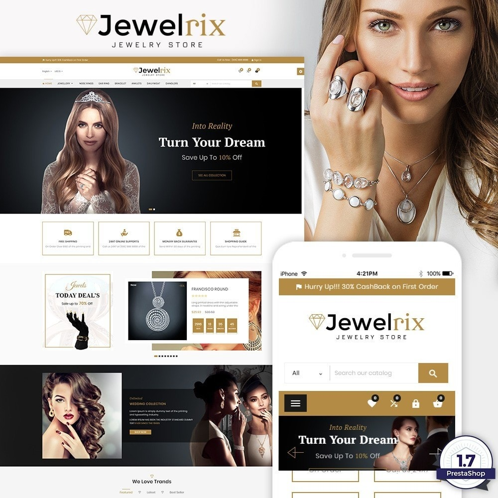 theme - Bijoux & Accessoires - Jewelrix Jeweler Store - 1