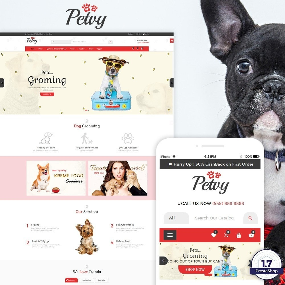 theme - Tier - Petoy – Pets and Animal Store - 1