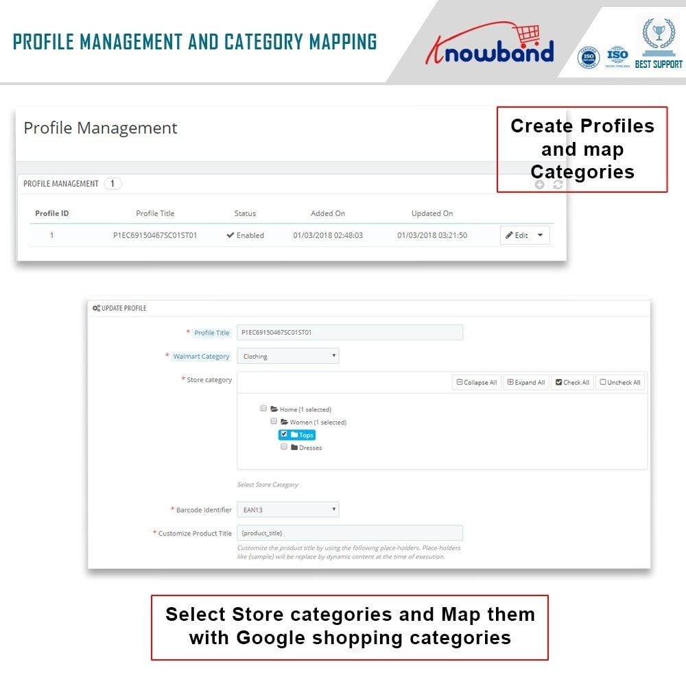 module - Integrazione (CRM, ERP...) - Knowband - Prestashop Walmart Integration - 3