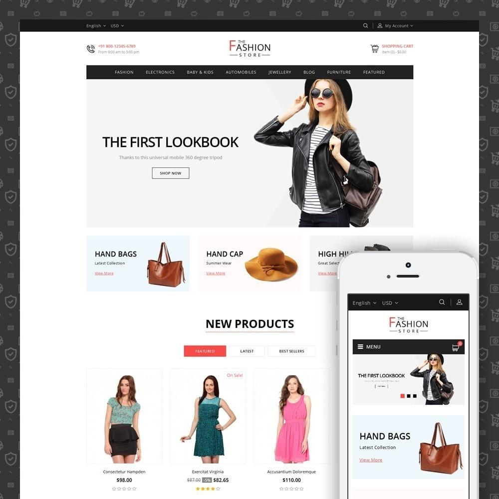 theme - Fashion & Shoes - The Fashion Store - 1