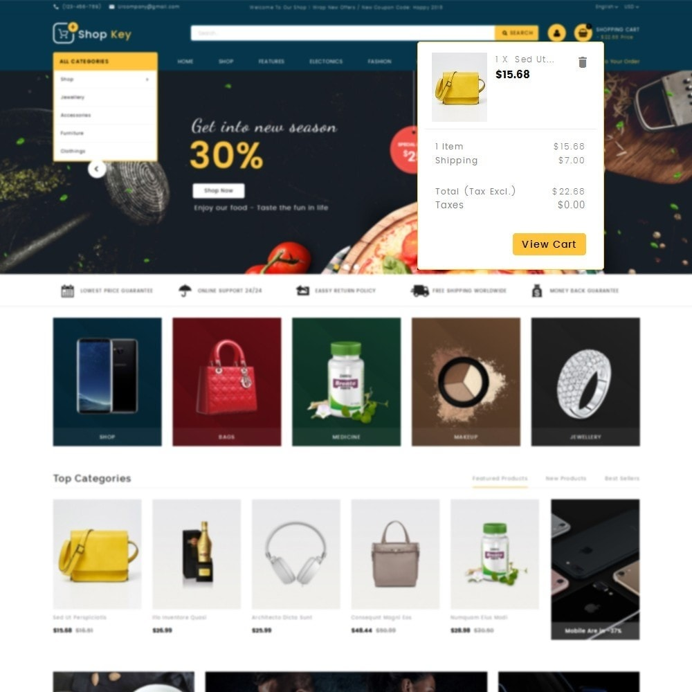 theme - Moda & Obuwie - Shop key Store - 8