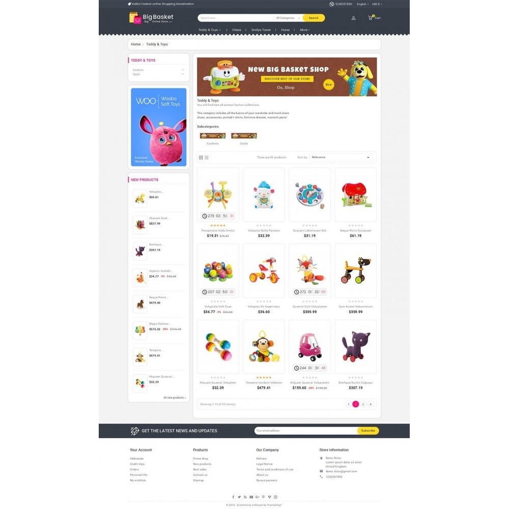theme - Дети и Игрушки - Big Basket Kids Toys - 3