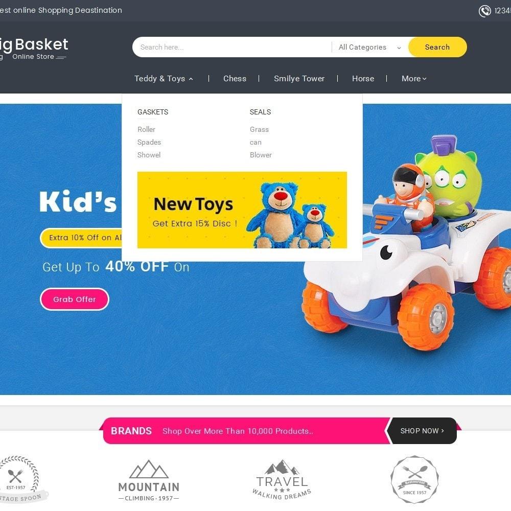 theme - Дети и Игрушки - Big Basket Kids Toys - 9