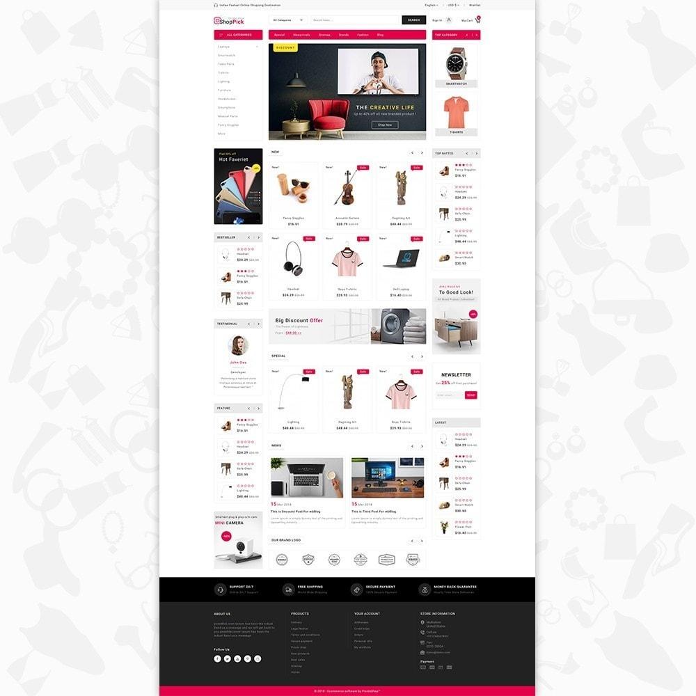 theme - Elektronik & High Tech - Shoppick - The Online Shop - 2
