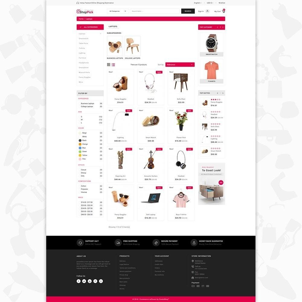 theme - Electrónica e High Tech - Shoppick - The Online Shop - 3