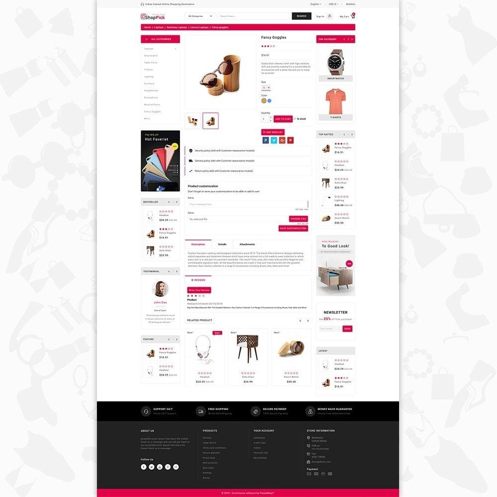 theme - Elektronik & High Tech - Shoppick - The Online Shop - 5