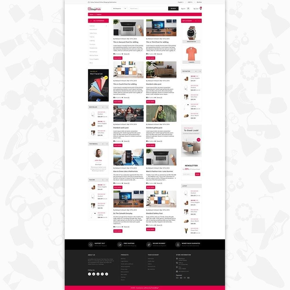 theme - Elektronik & High Tech - Shoppick - The Online Shop - 6