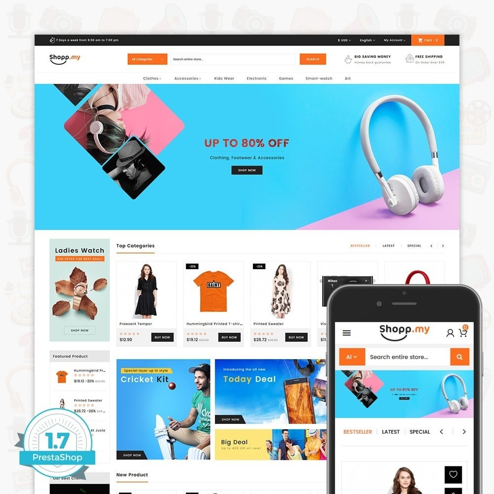 theme - Электроника и компьютеры - Shopmy - The MultiStore - 1