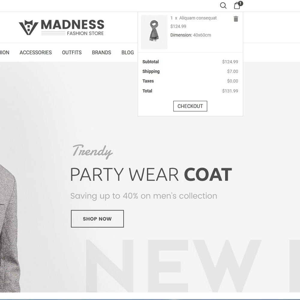 theme - Мода и обувь - Madness Fashion Store - 4